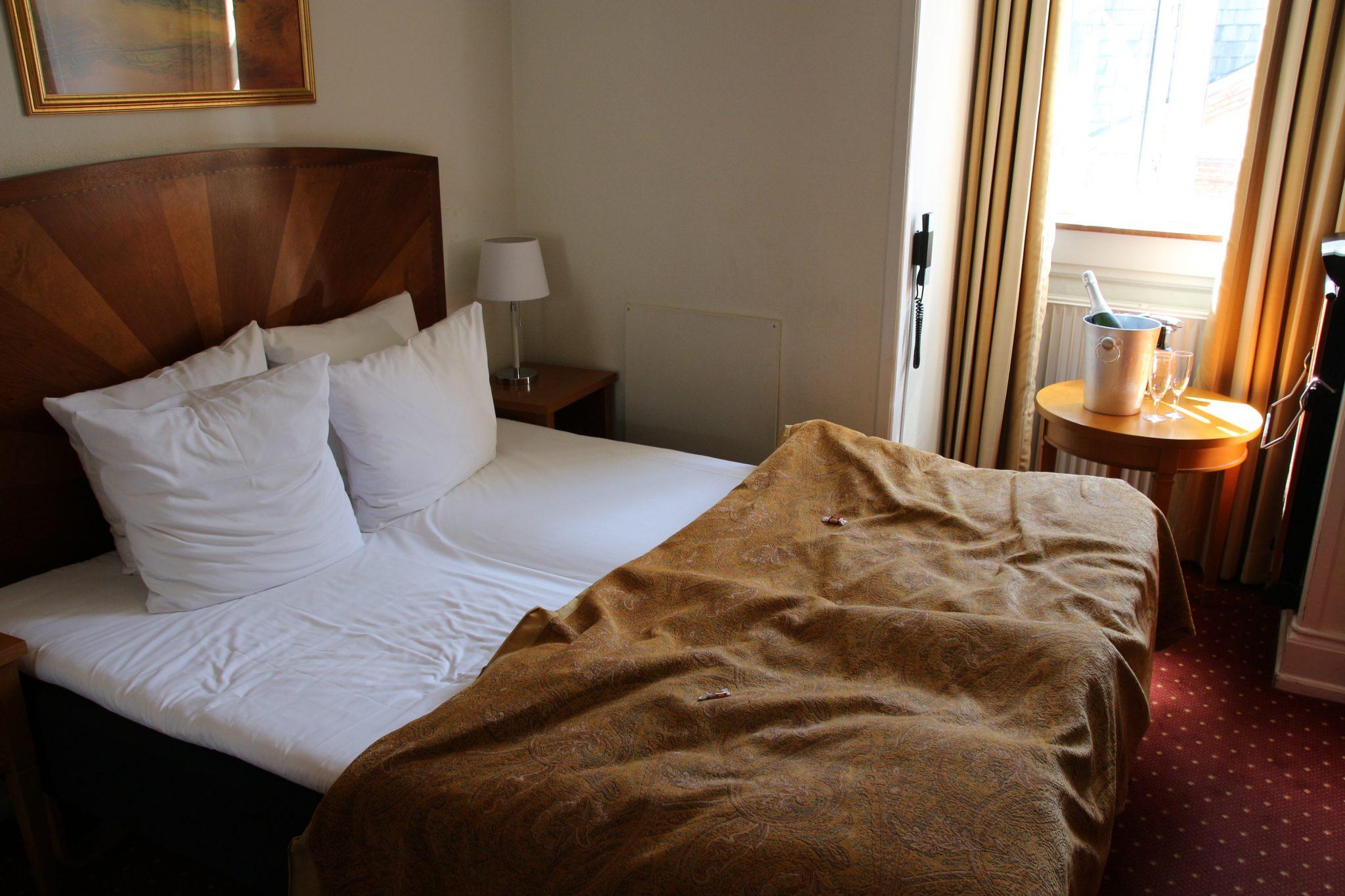 Our room at Best Western Hebron, Copenhagen, Denmark