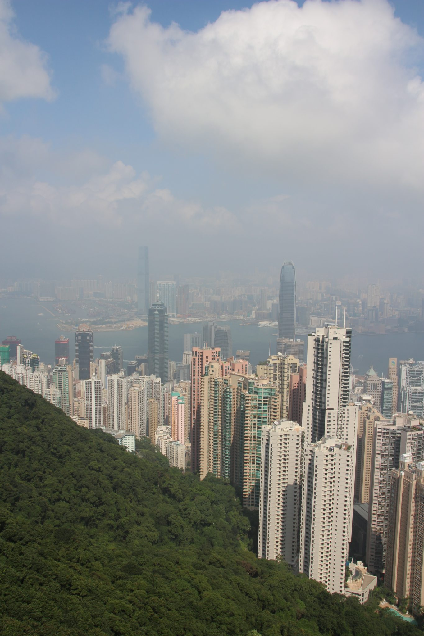 Another shot of the amazing Hong Kong skyline from Victoria Peak
