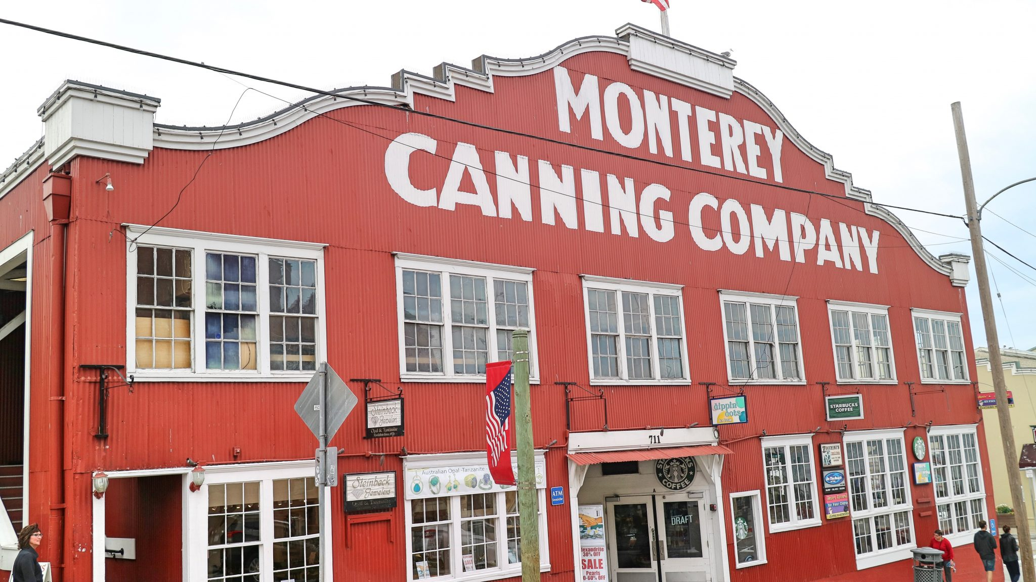 Original Canning Factory on Cannery Row, Monterey, California